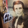The Fonz approves.  #blkhrt keychain