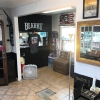 All finished up wall is out and looking good.  Feels like we doubled the shop size.  Little tile work and you would never know.  Come say hello get a cut and check it out.  #blkhrtbarbershop #pacificbeach