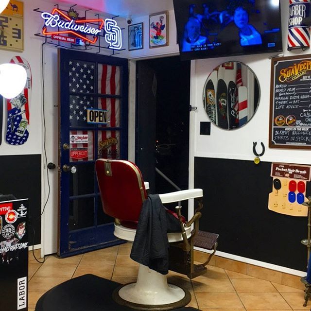 That's it for Friday.  Couple spots open tomorrow for cuts. Both barbers are in. Call or text 858-735-7466 #blkhrtbarbershop #pacificbeach