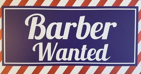 We have an open chair for a licensed barber at the shop.  If you know someone have them dm us or text 858-735-7466 for details.  Thanks.
