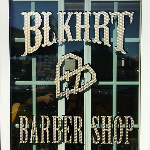 DONT WAIT TO GET A CUT!! We are open this week!!! Spots are filling up fast.  Call or text 858-735-7466 for an appointment.  BOOM you are in n out looking great for New Years.  #blkhrtbarbershop #pacificbeach